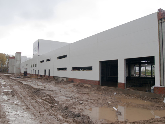 The construction of Multifunctional manufacturing and storage facility held for sale, maintenance and repair of motorcars «Pelican Auto