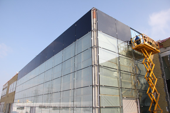 Construction of the «Multifunctional administrative warehouse complex», which is held for sale, maintenance and repair of motorcars «Pelican Auto»