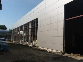 Continues an active construction Toyota dealership in the city of Bryansk.