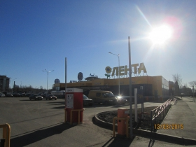 "Work on the improvement of shopping mall ""Lenta"""