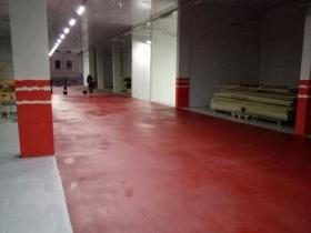 Продолжаются отделочные работы в Выставочном комплексе ЛЕНПОЛИГРАФМАШ.