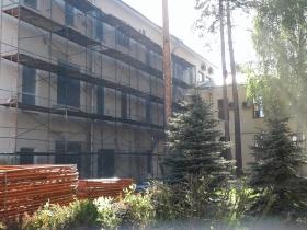 Компания приступила к работам по капитальному ремонту фасада главного здания ФТИ им. А.Ф. Иоффе.