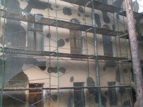Работы по реставрации фасада