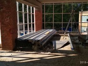 Продолжаются работы по строительству муз. школы в г. Сосновый бор