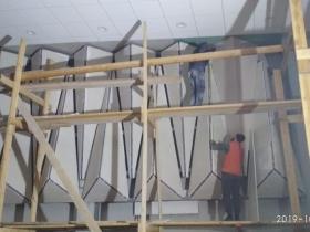 Работы по возведению школы в Сосновом Бору.
