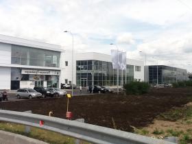 Введены в эксплуатацию 3 корпуса многофунционального административно-торгового и складского комплекса.