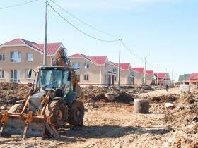 Строительство коттеджного поселка «Петергоф-сити»