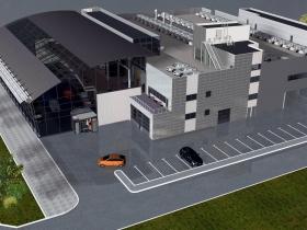 Административно-торговый центр с подземной автостоянкой